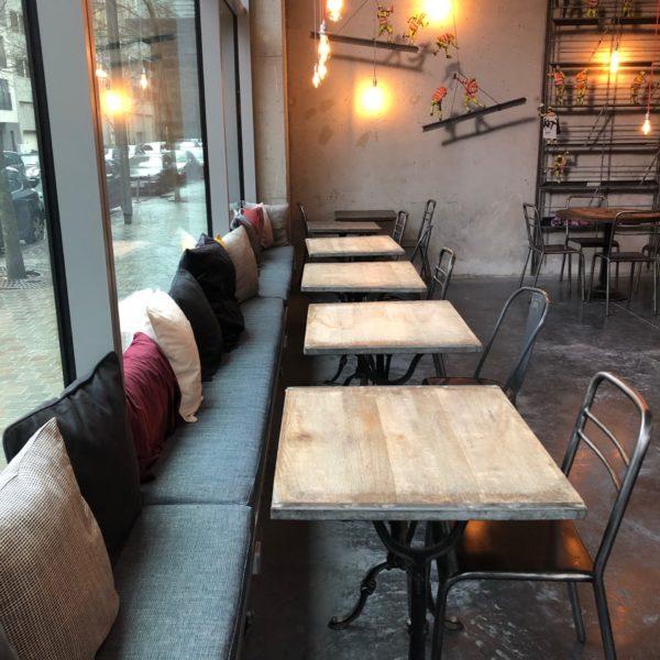 KET Café - Un univers vintage aux accents industriels